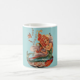 VINTAGE MERMAID MUG
