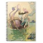 Vintage Mermaid Notebook