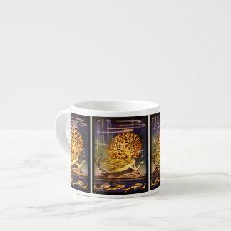 Vintage Mermaid Espresso Cups