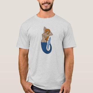 Vintage Mermaid Tattoo Art T-Shirt