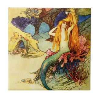 Vintage Mermaid Tile