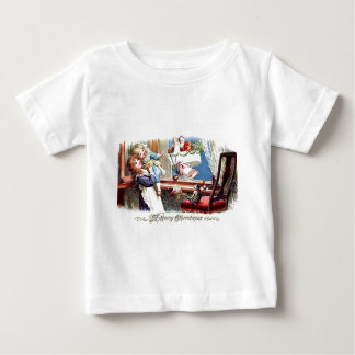 Vintage Merry Christmas Baby T-Shirt