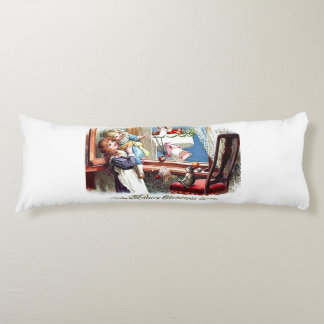 Vintage Merry Christmas Body Pillow