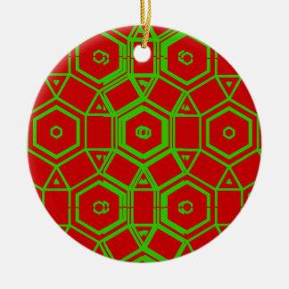 Vintage Merry Christmas Christmas Tree Ornament