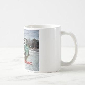 Vintage Merry Christmas Mug