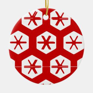 Vintage Merry Christmas Ornaments