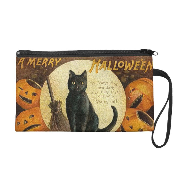 Vintage Merry Halloween Purse