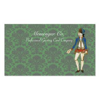 Vintage Messenger Retro Business Cards