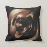 Vintage Metal Abstract Pillows