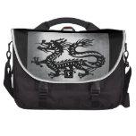 Vintage Metal Dragon Bag For Laptop