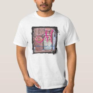 Vintage Metal Milk Jugs Wedding T-Shirt