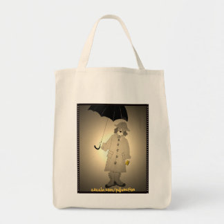 Vintage Metro Beagle Tote Bag