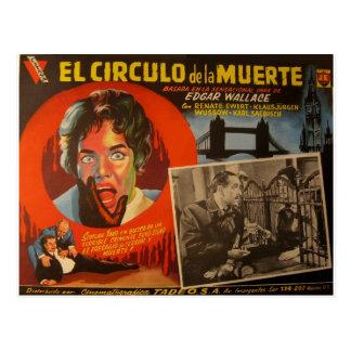 Vintage Mexican Lobby Card:  Edgar Wallace Krimi Postcards