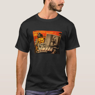 Vintage Mexican Masked Hero Lobby Card T-Shirt