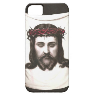 Vintage Mexican Religious Image -Thorn Crown Jesus iPhone 5 Case
