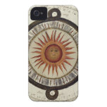 Vintage mexicano 1790 de Sun del reloj de sol del  Case-Mate iPhone 4 Cobertura
