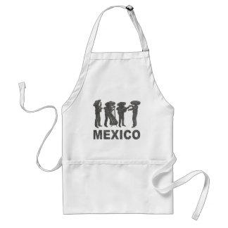 Vintage Mexico Adult Apron