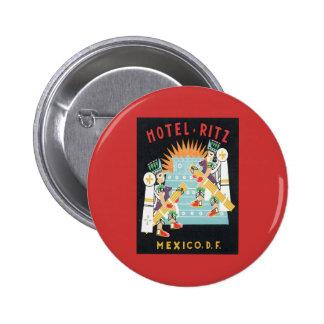 Vintage Mexico Hotel Pins