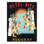 Vintage Mexico Hotel Postcard