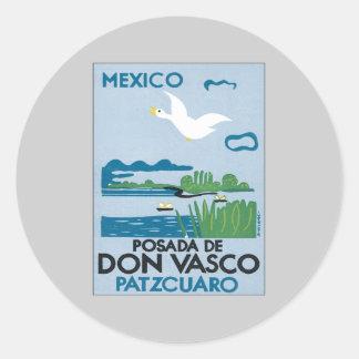 Vintage Mexico Patzcuaro Stickers
