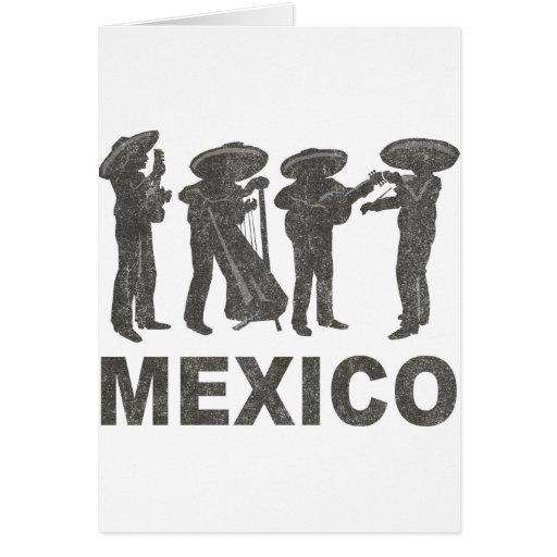 Vintage México Tarjeta De Felicitación