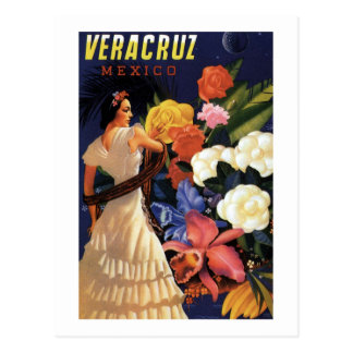 Vintage Mexico Travel Postcard