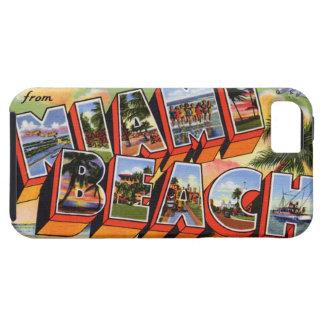 Vintage Miami Beach iPhone SE/5/5s Case