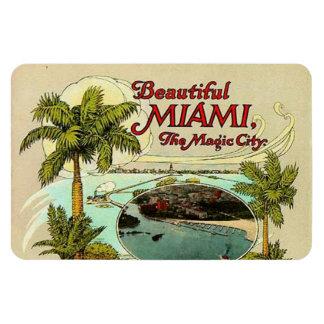 Vintage Miami, Florida, USA - Magnet