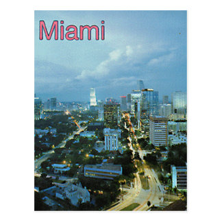 Vintage Miami, Florida, USA - Post Card
