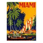Vintage Miami, la Florida, los E.E.U.U. - Postales