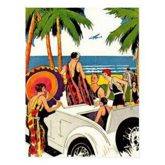 Vintage Miami, la Florida, los E.E.U.U. - Tarjetas Postales