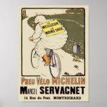 Vintage Michelin le Meilleur le Mons Cher Ad Marce Poster