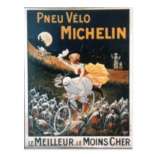 Vintage Michelin Man Postcard