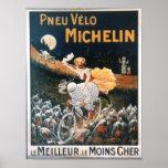Vintage Michelin Man Poster