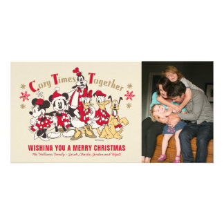 Vintage Mickey & Friends | Cozy Times Together - Card