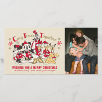 Vintage Mickey & Friends | Cozy Times Together - Holiday Card