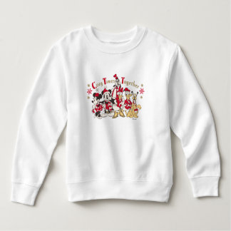 Vintage Mickey & Friends   Cozy Times Together Sweatshirt