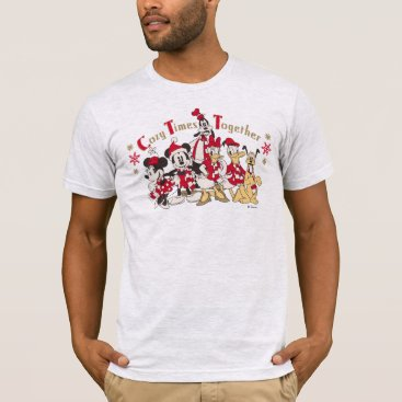 Disney Themed Vintage Mickey & Friends | Cozy Times Together T-Shirt
