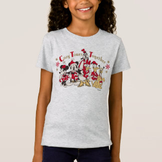 Vintage Mickey & Friends   Cozy Times Together T-Shirt