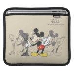 Vintage Mickey iPad Sleeves