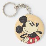 Vintage Mickey Llavero