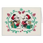 Vintage Mickey & Minnie | Cozy Christmas Card