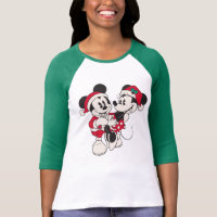 Vintage Mickey & Minnie | Warm & Cozy T-Shirt