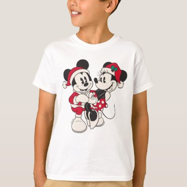Disney Themed Vintage Mickey & Minnie | Warm & Cozy T-Shirt