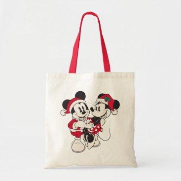 Disney Themed Vintage Mickey & Minnie | Warm & Cozy Tote Bag