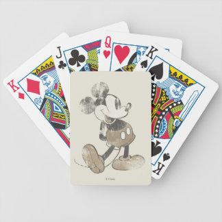 Vintage Mickey Mouse 1 Baraja Cartas De Poker