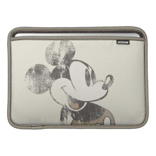 Vintage Mickey Mouse 1 Fundas Para Macbook Air