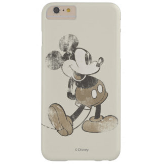 Vintage Mickey Mouse 1 Funda Para iPhone 6 Plus Barely There