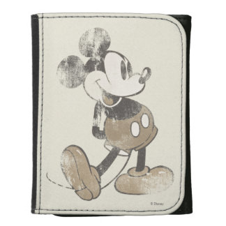 Vintage Mickey Mouse 1 Leather Wallet