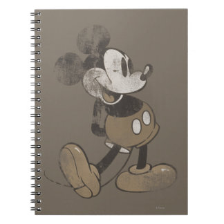 Vintage Mickey Mouse 1 Spiral Note Book